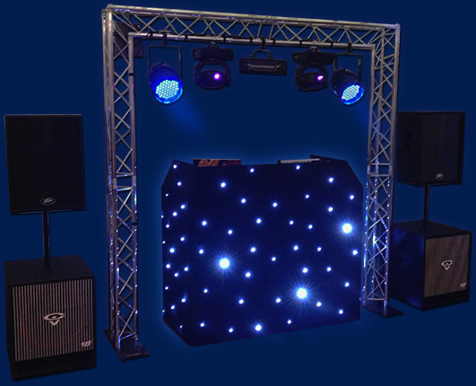 hire a mobile disco with a dj