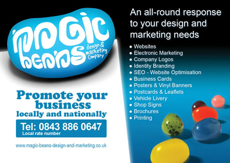 Magic Beans design and marketing Ipswich